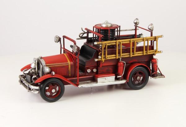 Moritz Auto Feuerwehrauto Oldtimer Modellauto Metall Zinn Dekoration