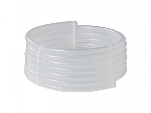 Trinkwasserschlauch 5,00M/10x15 mm Transparent)DVGW W270/KTW A