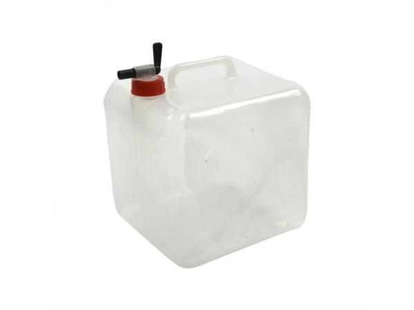 Faltbarer Wasserkanister mit Zapfhahn, 10 Liter