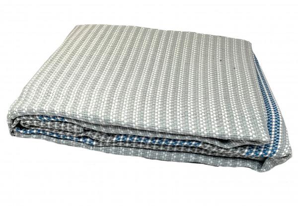 Vorzeltteppich 250 x 400 grau Lux Rigato