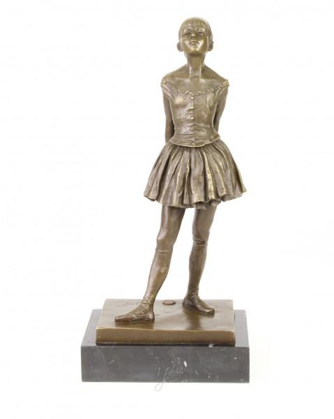 Moritz Bronzeskulptur Figur Skulptur Ballett Tänzerin 40cm Statue Antik-Stil Dancer